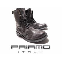 Sale Borcegos Rear Zip Priamo Italy Hombre [pr001340]