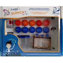 Juego De Quimica Galileo Incluye Manual Con 50 Experimentos