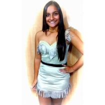 Fantasia Índia Pocahontas Corselet Premium Tam P (36 A 38)