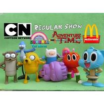 Coleccion Completa Show Hora De Aventura (mc. Donalds 2016)