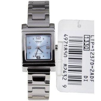 2e8e5ede3a03 Reloj Casio Para Mujer Ltp-1237d Analogo Dial Cuadrado Azul -   139.860 en  Mercado Libre