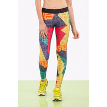 Legging L! Popsy Colors Live! Legging Colorida Bella Falconi