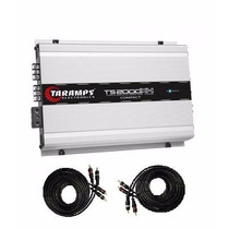 Modulo Digital Taramps Ts2000x4 Compact 2000w Rms + 2 Rca 5m