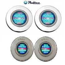 Kit Refletor Piscina 2 Led 65 E 2 Led 25 Inox Rgb Pooltec