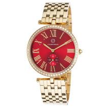 Reloj Cabochon 16389-yg-24 Es Carlita Gold-tone Stainless