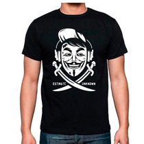 Playera V De Vendetta Anonumous Catalogo Comics Superheroes