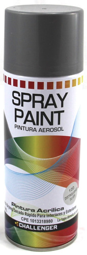 Pintura spray acr lica metalizada aerosol plateado bs 4 - Spray pintura acrilica ...