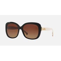Lentes Gafas Coach Negro Sol Original Hc8158 533613