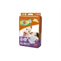 Kit 3 Fraldas Hipopó Baby Mega Tamanho Eg C/60 Unidades Cada