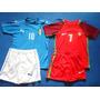 Conjunto Uniforme Niños Eurocopa Portugal Italia Alemania Es