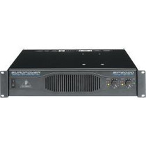 Hola! Behringer Europower Ep2000 Potencia Amplificador 2x100