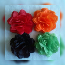 Flores De Tela Al Estilo Rosas Coronas Cintillos Lazos