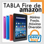 Tabla 7 Pulgadas Amazon Fire Doble Cámara