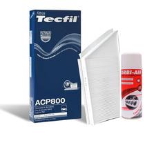 Kit Filtro Higienizador Ar Condic Tecfil Peugeot 206 Acp800