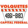 Alquiler De Volquetes Almagro, Boedo, Caballito,palermo Y Ca
