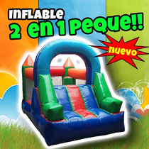 Inflable 2 En 1 Peque Lonas Intercambiables Meses Sin Int