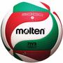Balon Voleibol Molten 5000 Deporte Cuero Muy Suave Original!