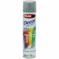 Tinta Spray Colorgin Decor Alumínio Rodas 360ml - Cx/6