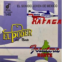 Cd Banda Rafaga Frontera Norte El Poder De Norte Promo Usado