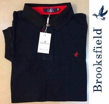 402b9cbc50 Kit Com 2 Camisas Polo Brooksfield Masculina Lisa - R  149