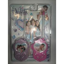 Walkie Talkie De Violetta Disney Channel-imperdible