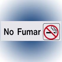 Letrero No Fumar 7.6x22.8 Cm. Hy-ko