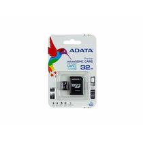 Memoria Micro Sd Hc Adata 32gb Cl10 Con Adaptador Sd