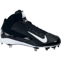 Spikes Nike Huarache Color Negro C/blanco Talla 7 Mex