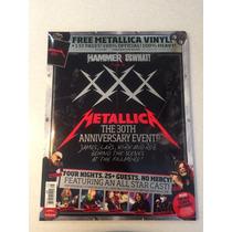 Metallica Revista 30 Aniversario + Vinil De 7 Xxx