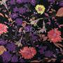 Flores Negro-Morado