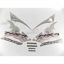 Kit Adesivos Falcon Nx4 2006 Prata - Resinado - Decalx