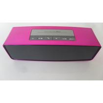 Cornetas Bluetooth Con Entrada Microsd Y 3.5mm Recargable