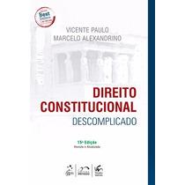 Direito Constitucional Descomplicado 2016 Pdf