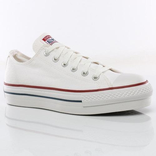 zapatillas converse mujer blancas con plataforma