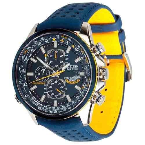 1b1778d7b57 Relógio Citizen Ecodrive Blue Angel At8020-03l Pronta Entreg - R  1.950
