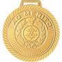 Kit Com 45 Medalhas Rema Ref.4430 Ouro/prata/bronze Com Fita