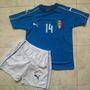 Uniforme Italia Local Eurocopa 2016 Niños El Shaarawy