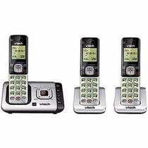 Teléfono Inalámbrico Vtech Altavoz + 2 Extensiones Cs6729-3