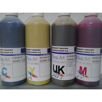 Kit 4 Tintas P/ Impressora Sublimação - Elvajet Se Sensient
