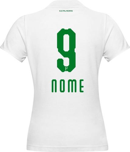 8f01492932 Camisa Personalizada Palmeiras Numero Nome Varios Modelos - R  98