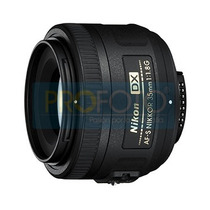 Nikon 35 Mm F/1.8g Af-s Dx Nikkor P Dslr D3100 D5100 D7000