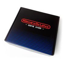 Game Over Box Mascara De Latex Playeras Colección Nintendo