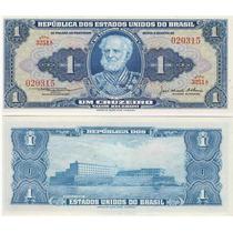 Brasil Billete 1 Cruzeiro Unc 1954-1958