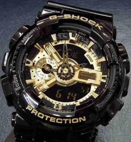 8ede74ab014 Relógio Casio G Shock Ga 110gb Preto C  Dourado- Promoção - R  599 ...
