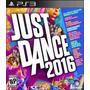 Just Dance 2016 Ps3 | Digital * Mercadolider * Chokobo