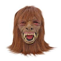 Hombre Lobo Traje - Adulto Máscara Espuma Con Halloween Cab
