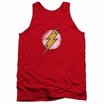 Disfraz Justice League Dc Comics Destroyed Flash Logo Adult