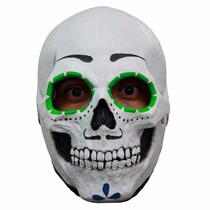 Mascara Catrin Skull Latex Halloween Dia D Muertos Calaverit