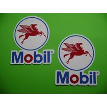 Jgo De 2 Stickers Calcomanias Mobil Pegaso Tuning!!!