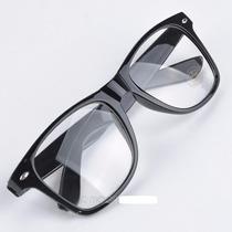 Armação Óculos Retrô Com Lentes Varias Cores